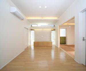 富山市の注文住宅施工例 ホール